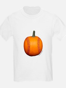 Baseball Pumpkin T-Shirt
