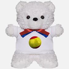 Spanish Soccer Ball Teddy Bear