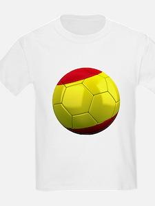 Spanish Soccer Ball T-Shirt