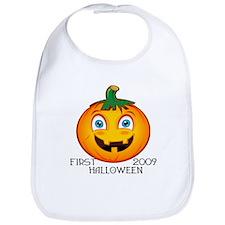 First Halloween 2009 Bib