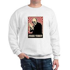 Dalai Lama Free Tibet Sweatshirt