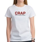 CRAP - Carbon Really Ain't Pollution Women's T-Shi