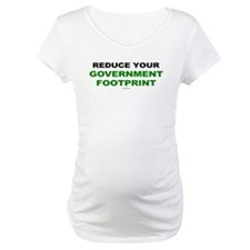 Reduce your government footprint Shirt