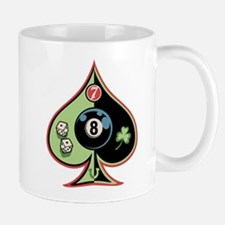 8 of Spades Mug