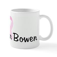 Lisa Ann Bowen pink ribbon Mug