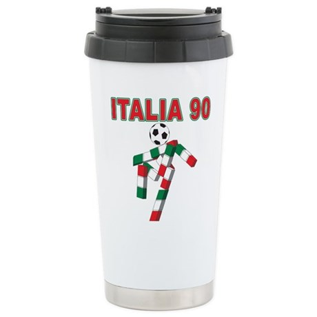 Retro 1990 Italia world cup Stainless Steel Travel