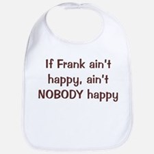 Personalized Frank Bib
