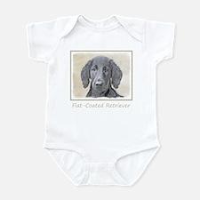 Flat-Coated Retriever Infant Bodysuit