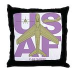 F-86F Throw Pillow