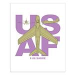 F-86F Small Poster