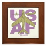 F-86F Framed Tile