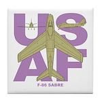 F-86F Tile Coaster
