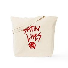 Satin Lives Tote Bag