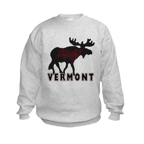 Vermont Moose Kids Sweatshirt