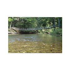 Swinging Bridge, Custom Rectangle Magnet (10 pack)