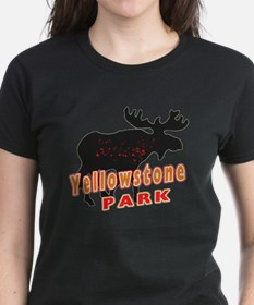 yellowstone Moose Tee