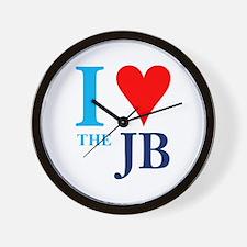 I heart the JB Wall Clock