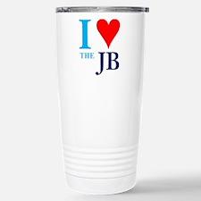 I heart the JB Stainless Steel Travel Mug