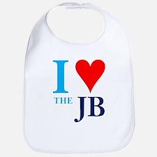 I heart the JB Bib