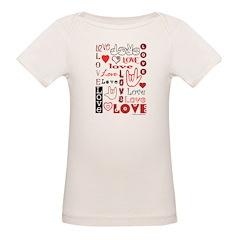 Love WordsHearts Tee