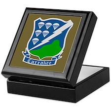 506th PIR Currahee Insignia Keepsake Box