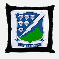 506th PIR Throw Pillow