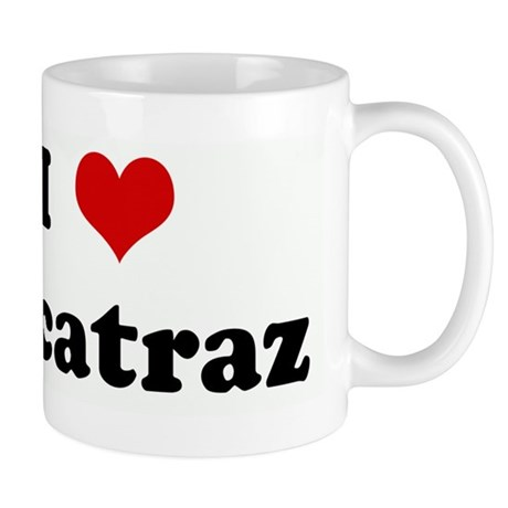 I Love Alcatraz Mug
