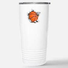 Basketball Burster Travel Mug