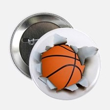 "Basketball Burster 2.25"" Button (10 pack)"