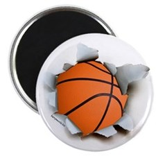 "Basketball Burster 2.25"" Magnet (100 pack)"