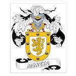 Moreta Coat of Arms Small Poster