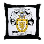 Moreta Coat of Arms Throw Pillow