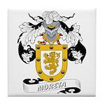 Moreta Coat of Arms Tile Coaster