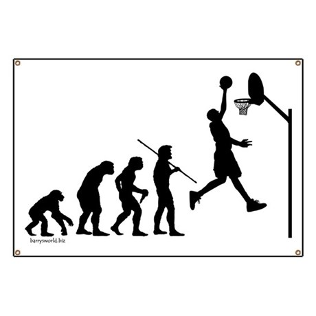 Basketball Evolution Banner