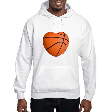 Basketball Love Hooded Sweatshirt