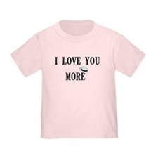 """I love you more"" T"
