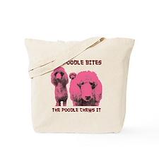 Unique Poodles rock Tote Bag