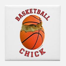 Basketball Chick 2 Tile Coaster