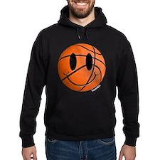 Basketball Smiley Hoodie