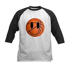 Basketball Smiley Tee