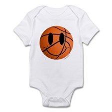 Basketball Smiley Infant Bodysuit