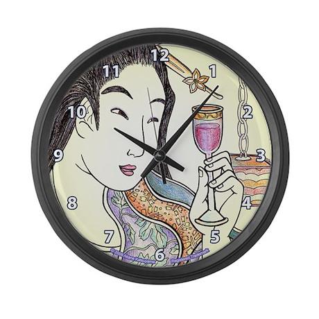 """Japanese Woman """"Budoushu"""" - Large Wall C"""