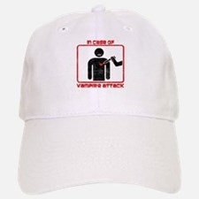 In Case Of Vampire Attack Baseball Baseball Cap