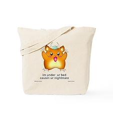 im under ur bed - Tote Bag