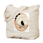 70s Indian Fantail Pigeon Tote Bag