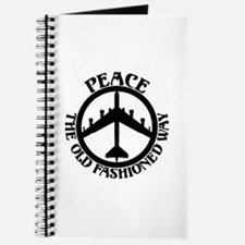B-52 Peace the Old Fashioned Way Journal