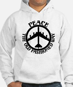 B-52 Peace the Old Fashioned Way Hoodie