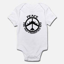 B-52 Peace the Old Fashioned Way Infant Bodysuit