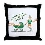 Happy Drunken St. Patrick's Day Throw Pillow