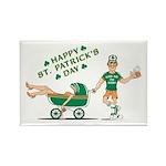 Happy Drunken St. Patrick's Day Rectangle Magnet (